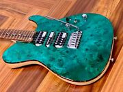 Schecter Kr-24-hsh-vtr/pf Ocean Green Limited Production Model Physical Image