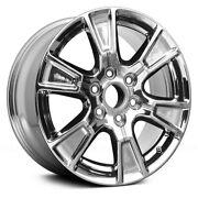 For Ford F-150 15-16 Alloy Factory Wheel 6 I-spoke Pvd Chrome 18x7.5 Alloy