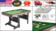 Folding Pool Table 60 Steady Indoor Billiard Game W/ Complete Accessories Set
