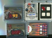 Shelby Miller Lot Over 80 Autographs 1/1and039s Triple Autoand039s Dual Auto Patches