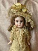 German Antique Bisque Doll Mignonnette Total Length 11.8inch Shipping From Japan