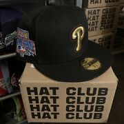 Hat Club Exclusive 7 3/8 Discontinued Crossover Cool Fashion Phillies/76ers