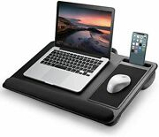 Laptop Table Mouse Pad Wrist Rest Smartphone Stand Handle 17inch Black Pca-lttp