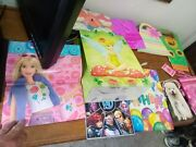 10 Various Gift Bags Barbie Avengers Tinkerbell Xmas Dogs Bday Wine Blubx