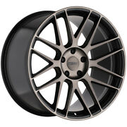 Staggered-tsw Nord Front19x8.5rear19x9.5 5x112 +35mm Black/tint Wheels Rims