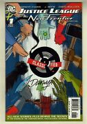 Justice League The New Frontier Special 1, Signed By Darwyn Cooke, W/ Coa