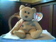 Ty Beanie Baby Collection Retired Curly Bear April 121996 Rare Lots Of Errors.