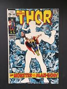 The Mighty Thor 169 Marvel 1969 Silver Age Galactus Origin Jack Kirby Cover