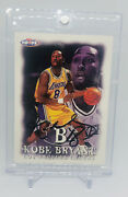 🔥rare Kobe Bryant Auto Autographed Signed Nba Hoops Card 1997-98 + One Touch🔥