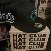 Hat Club Exclusive 7 3/8 Discontinued Crossover Cool Fashion Twins/timberwolves