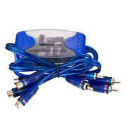 4-channel Rca Audio Noise Filter Suppressor Ground Loop Isolator Car Sterenwf