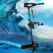 Electric Thrust Motor Outboard 80lbs 12v 1.2hp Brush Boat Engine Manual Control