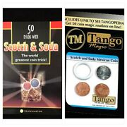 Scotch And Soda W 20 Centavo By Tango Magic Real Coins Plus 50 Trick Book