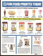 Gold Medal Popcorn And Snack Machine Catalog 1991