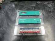 Bev Bel N Scale Evans Penn And Ny Central 10002 10009 And Model Power 3403 Maine