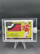 2019 Panini One Kyler Murray Rookie 3-color Patch Auto 9/125 True Rpa