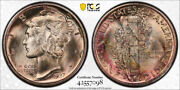 1937 D 10c Mercury Dime Pcgs Ms 67+ Fb Cac Approved Full Bands Stunning