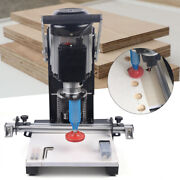 Us Hinge Boring Machine Woodworking Drilling Tool Hole Puncher Cutting Tool 110v