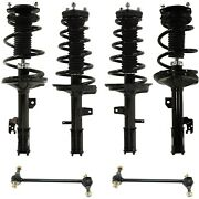 New Set Of 6 Suspension Kits Front And Rear Driver Passenger Side Lh Rh For Toyota