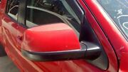 Red Pass. Side View Mirror Power Heated Textured Rh Fits 07 Toyota Tundra Oem