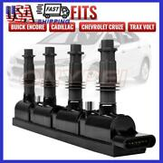 Ignition Coil Fit For Chevy Cruze Trax Sonic Volt Buick Encore Cadillac Elr 1.4l
