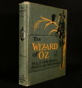 1903 The Wizard Of Oz L.frank Baum Denslow Very Scarce Illustrated 2nd Edition