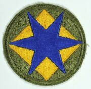 Wwii 46th Infantry And039phantom Divisionand039 Shoulder Insignia