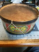 Boy Scout Drum 1908 J Chein And Co. Metal Made In Usa Bsa 41-505b