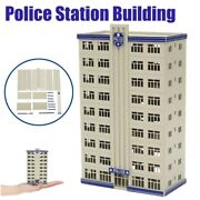 N Scale Outland Models Railway Police Department Headquarter Station Building Us