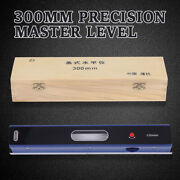 12inch Master Precision Level In Fitted Box Fit Machinist Tool 0.0002''/10'' Hot