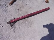 Vintage Universal Wood Hitch Tongue For Plow Or Disk Or Drill To Tractor Horse