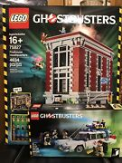 Lego Ghostbusters Firehouse Headquarters 75827 New In Sealed Box W/ Ecto 1