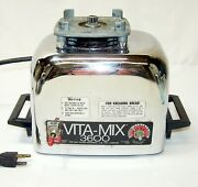 Vitamix 3600 Blender Base Only Runs But Very Noisy For Parts Or Repair