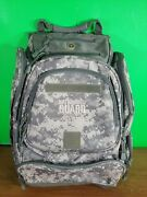 Authentic Us National Guard Backpack Hiking Camping