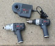 Ingersoll Rand Ir 2pc Combo W360 1/2 19.2v Impact And D650 1/2 Drill No Battery