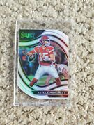 2020 Select Patrick Mahomes Ii White Silver Prizm Field Level Die-cut Ssp