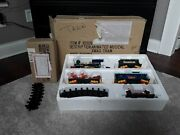Vintage 1993 Toy State Industrial Christmas Magic Musical Animated Train Set