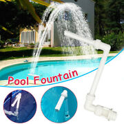 Water-fountain For Above In-ground Swimming Pools Water Spray Cooling Waterfall
