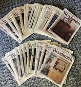 Lot Of 46 Woodsmith Notes From The Shop Magazine 80's 90's
