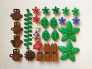 Lego Duplo Little Forest Friends Leaf Pack Flowers Tree Vine Toot Bluebell Parts
