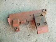 Farmall 706 Rowcrop Tractor Fasthitch Main 2pt Hitch Right R Complete Pocket