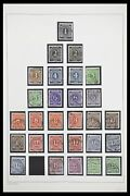 Lot 33837 Stamp Collection German Zones 1945-1948.