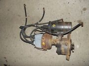 Farmall H Ih Tractor Distributor Assembly W/ Coil And Wires
