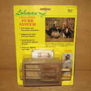 Lohman 864 Wood Box Turkey Game Hunting Call Challenge Purr New In Package