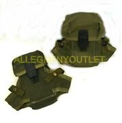 U.s. 2 Pack Surplus Od Green Alice 3 Cell M16 Small Arms Magazine Ammo Pouch Pc