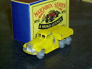 Matchbox Moko Lesney Reo Prime Mover 15 A1 Rare Lemon F-c Sc1 Exc And Crafted Box