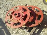Farmall 240 Rc Ih Tractor Rear Case Wheel Center Hub 351244r2 And Wedge Mount