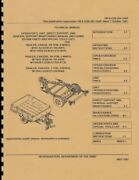 Tm 9-2330-202-14andp Maintenance And Parts Manual M101a2 Trailer 1997 Rprint