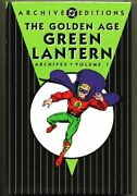 Hc Dc Archive Edition The Golden Age Green Lantern Archives Vol 1 Hardcover 1st