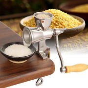 Stainless Manual Mill Grinder Hand Crank Grain Corn Wheat Coffee Grinder Sliver